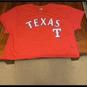 Texas Rangers crop top